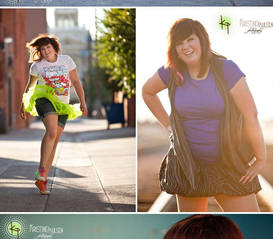 Green Tutus and Neon Shoes! – {Tessa's Missoula Senior Portraits}