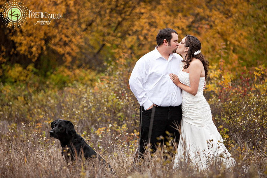 Love Amongst the Autumn Leaves – {Katherine and Mike's Missoula Rock The Dress Session}