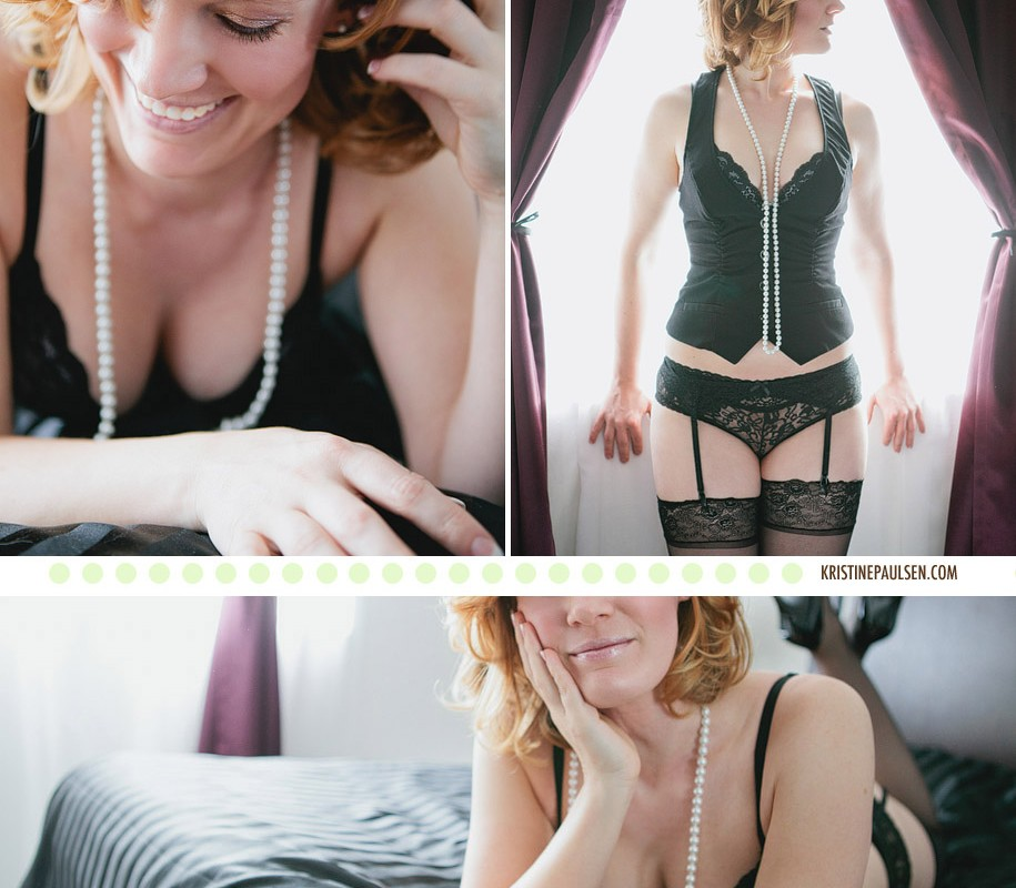 Stockings, Lace and Garters – {Gini's Missoula Boudoir Session}