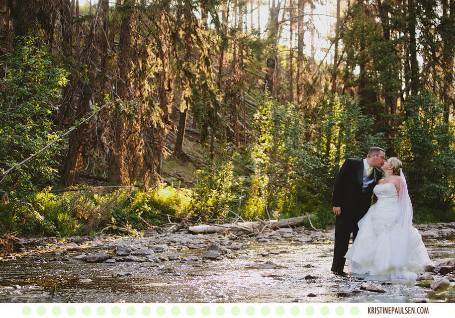"Love on the Lake – {Sarah and Jeff's Placid Lake ""Rock the Dress"" Session}"