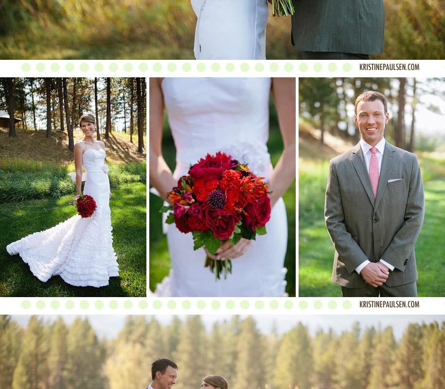 Breezy and Beautiful – {Sara and Ryan's Seeley Lake Wedding}