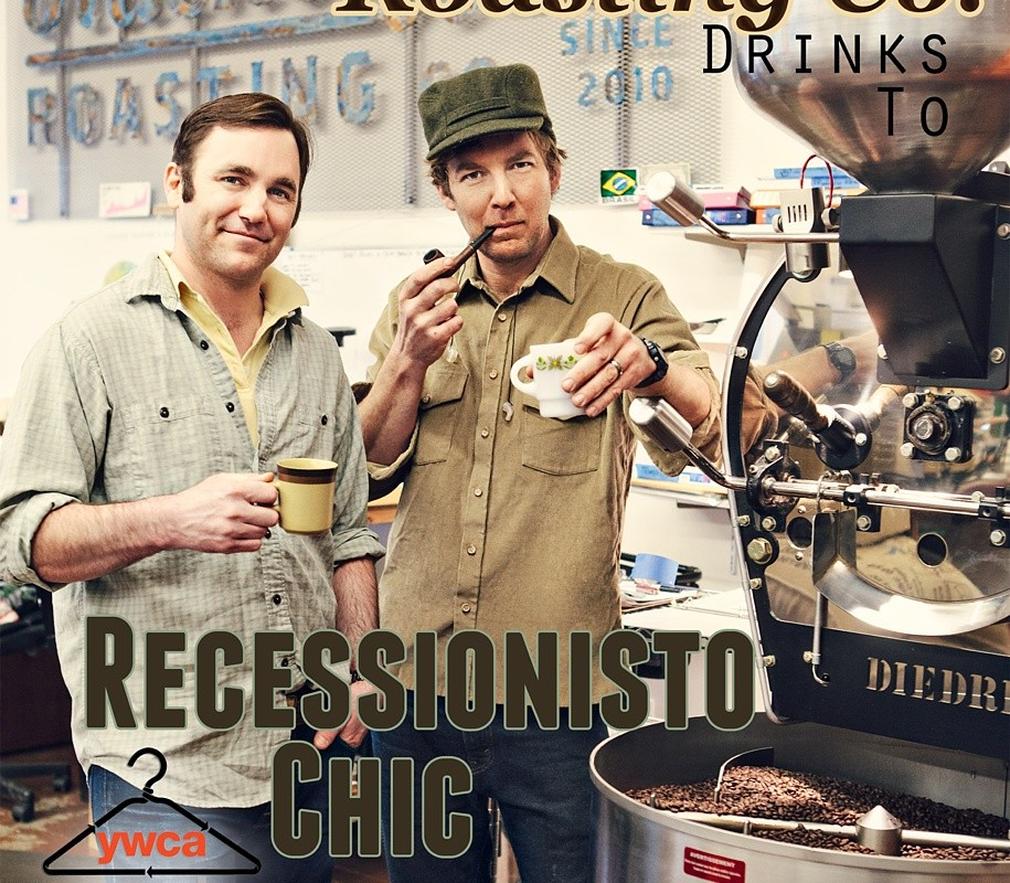 Something to Drink to – {Black Coffee Roasting Co.'s Recessionisto Chic Photo Shoot}