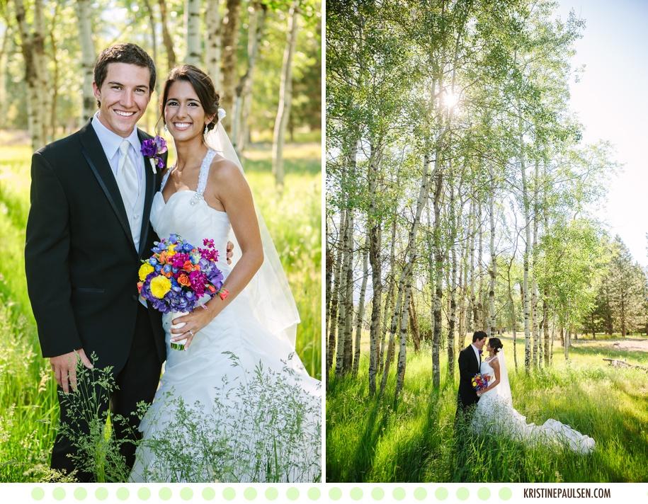 Sunflowers and Smiles – {Megin and Seth's Stevensville, Montana Wedding}