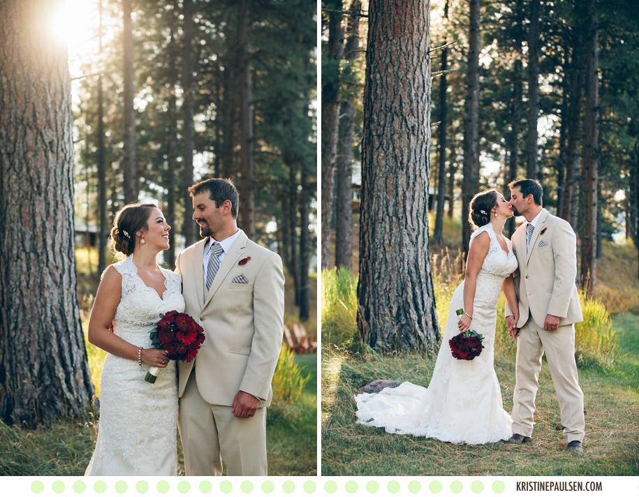 An Autumn Love in Majestic Montana – {Lindsay and Paul's Double Arrow Lodge Wedding}