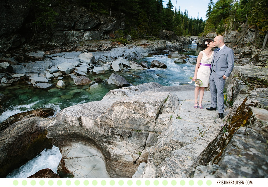 The Glacier Sublime :: Meagan and Brian's Glacier National Park Elopement