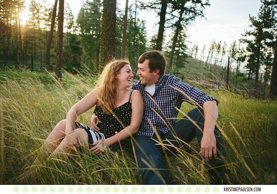 Montanniversary :: {Aaron and Sarah's Missoula, Montana Anniversary Photos}