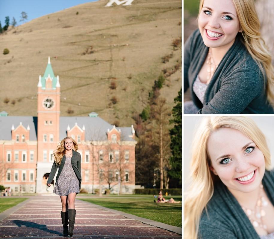 Brooke :: University of Montana Graduation Portraits