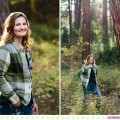 Kaeleigh :: Missoula Montana Senior Pictures in the Forest - Photos by Kristine Paulsen Photography