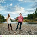 Bailey + Andrew :: Missoula Autumn Engagement Photos - Photos by Kristine Paulsen Photography