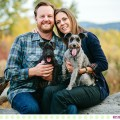 Guy + Teresa :: Missoula Fall Engagement Photos - Photos by Kristine Paulsen Photography