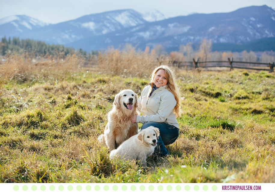 Kristy, Dug & Sven :: Victor Montana Pet and Family Pictures