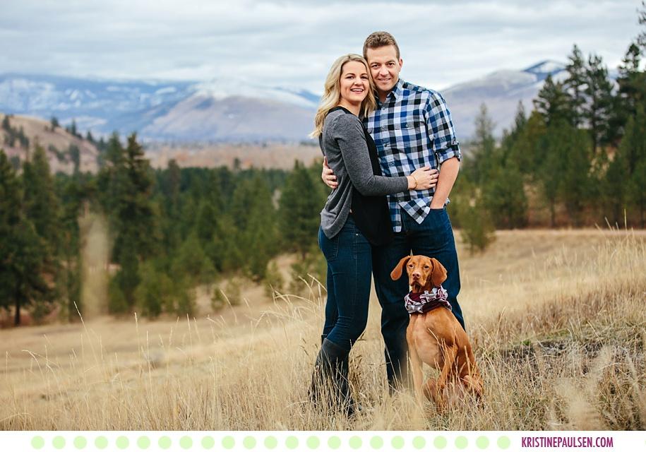 Janelle + Jamie :: Griz Engagement Photos in Missoula Montana