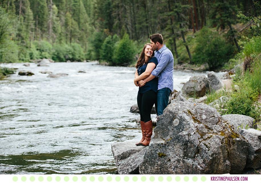 Katie + Anthony :: Rock Creek Montana Engagement Session