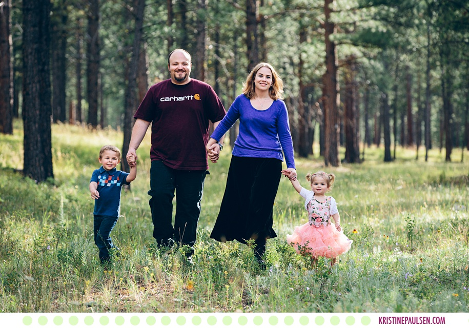 Fritz, Alison, Harry and CeCe :: Family Portraits in Potomac Montana