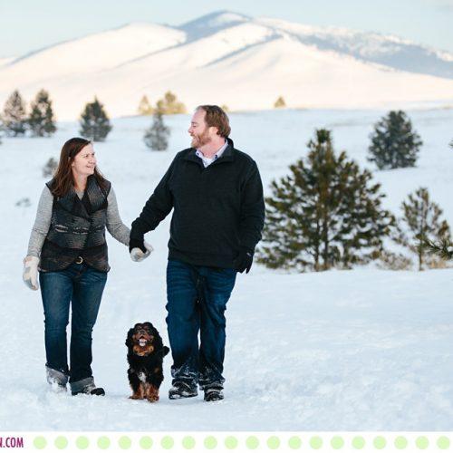 Margaret, Scott + Danforth Quayle :: Missoula Pet and Family Photos - Photos by Kristine Paulsen Photography