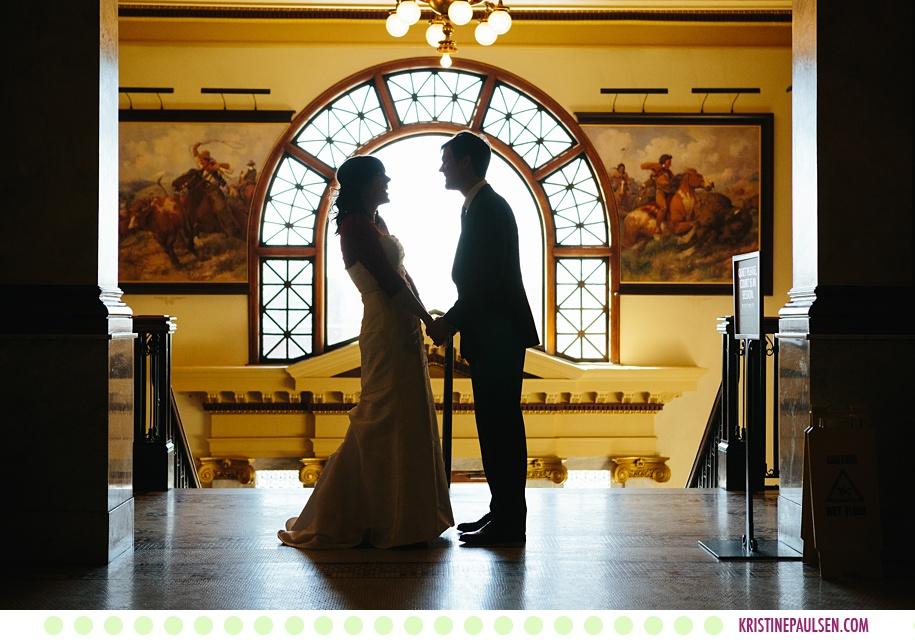 Megan + Ben :: Missoula County Courthouse Wedding