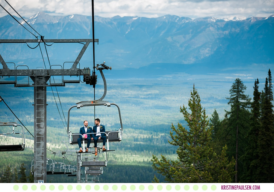 Jackson + Logan :: Kimberley Alpine Resort Wedding in British Columbia Canada