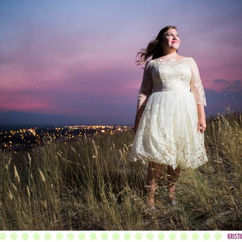 Ali :: Missoula Montana Rock the Dress Photos - Photos by Kristine Paulsen Photography