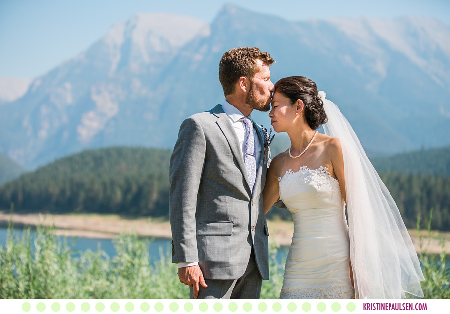 Aika + Rob :: St Ignatius Montana Intimate Garden Wedding