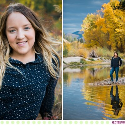 Cheyanna :: Missoula Montana Autumn Senior Photos - Photos by Kristine Paulsen Photography