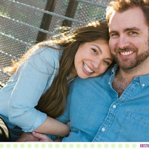 Christine + Alex :: Missoula Urban Engagement Photos - Photos by Kristine Paulsen Photography
