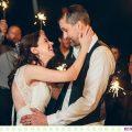 Becka + Stephan :: Snowy Wedding at the Barn on Mullan - Photos by Kristine Paulsen Photography